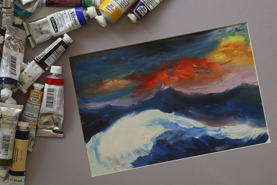 What to do after you're done with your painting