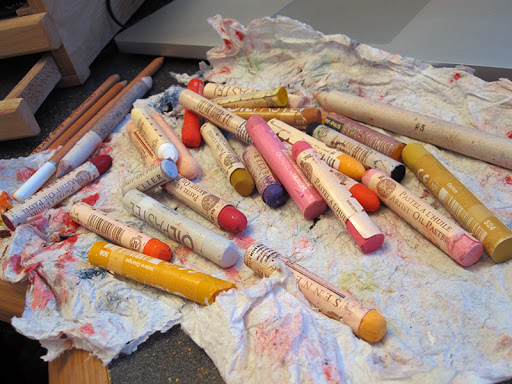 keep-oil-pastels-clean