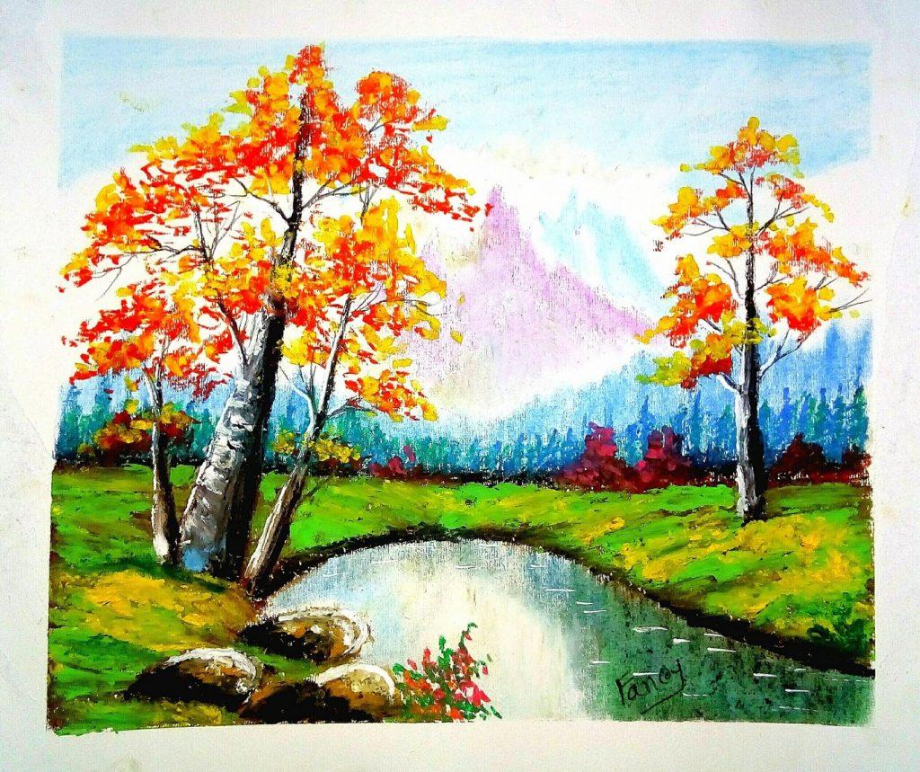 oil-pastel-drawings