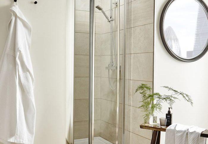 Bi-Fold Shower Door at Royal Bathrooms