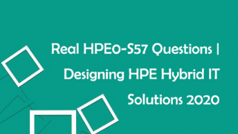 HP HPE0-S57 Practice Test Questions