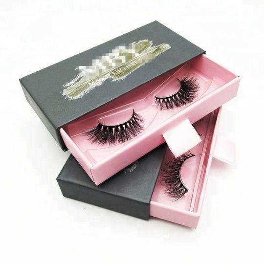 custom eye lash boxes